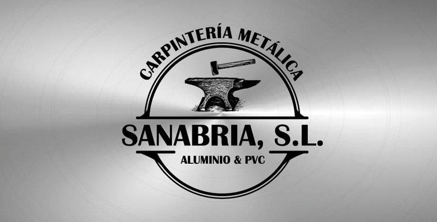 logotipo carpintería metálica sanabria