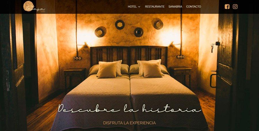 web hoteles rurales zamora